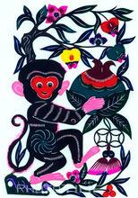 申猴吉祥图