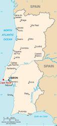 Location of Cape Roca